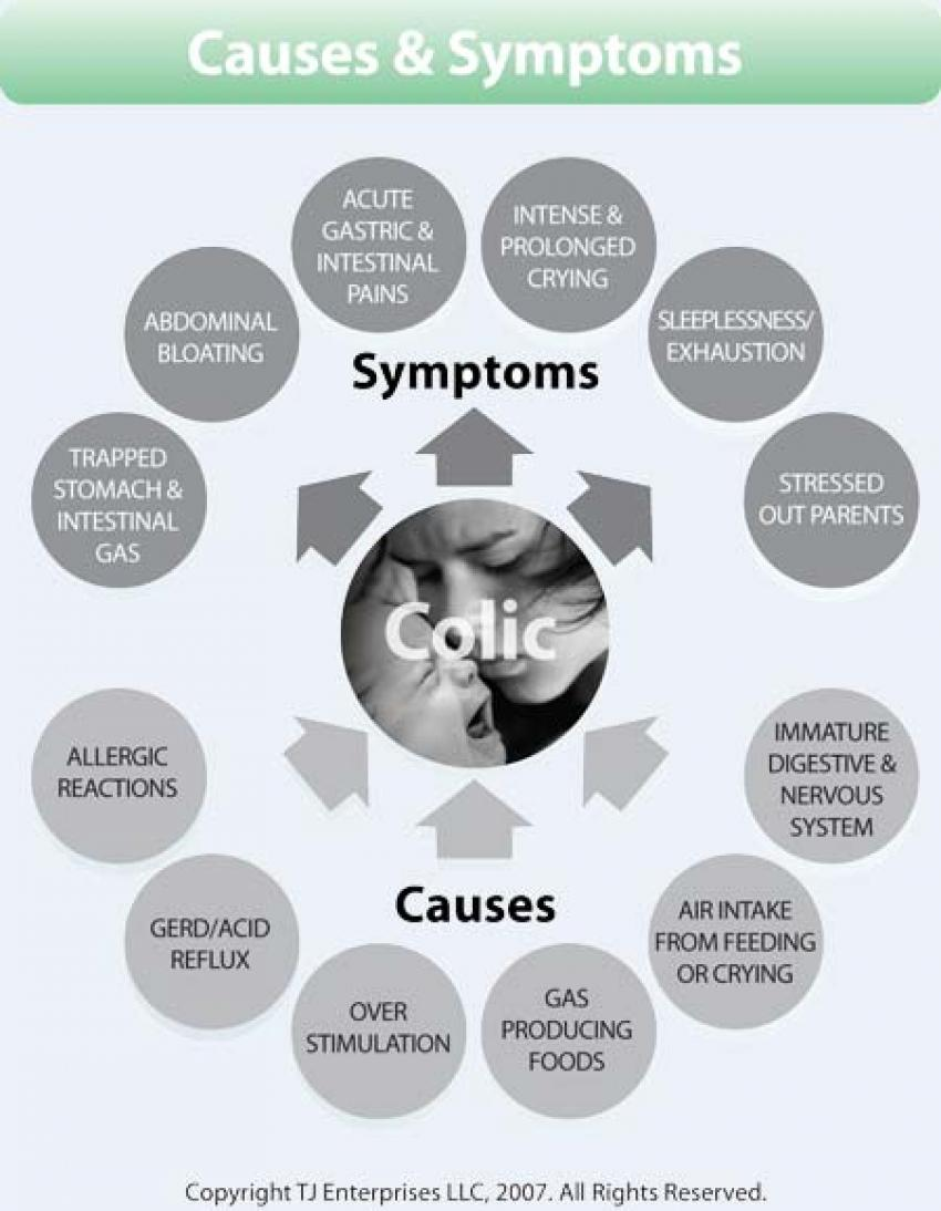 What are the Symptoms of Colic?